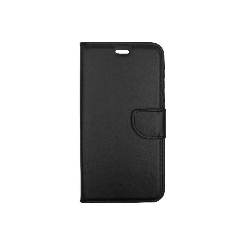 θήκη iphone 7 Plus / 8 Plus πορτοφόλι με λουράκι μαύρο 2