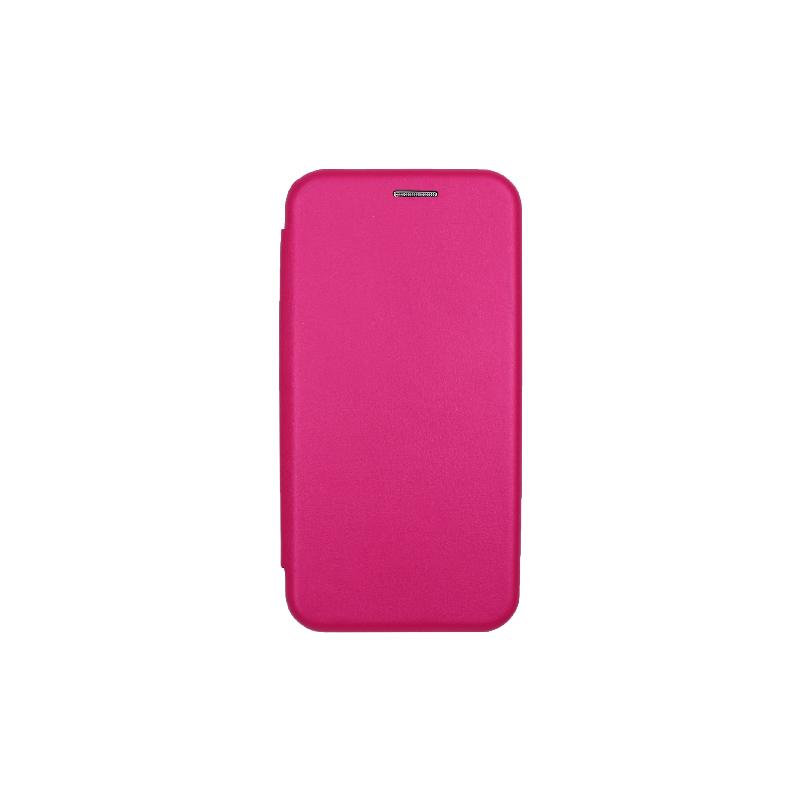 θήκη iphone 11 pro πορτοφόλι φούξια 1