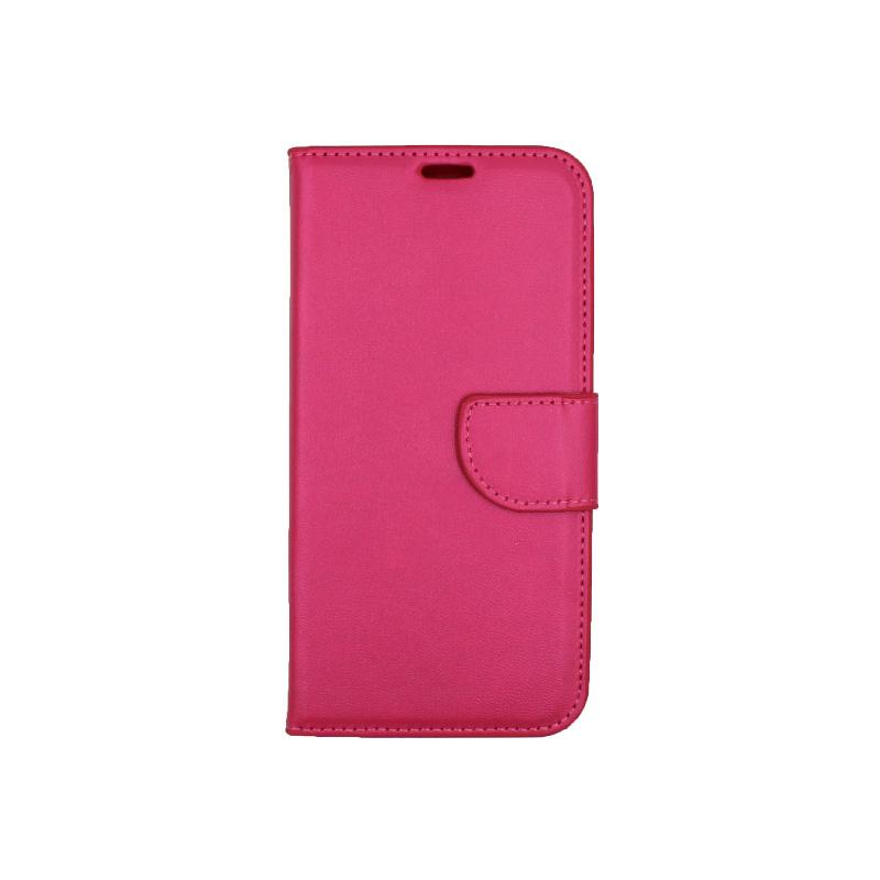 Θήκη Samsung Galaxy J6 πορτοφόλι φουξ 1