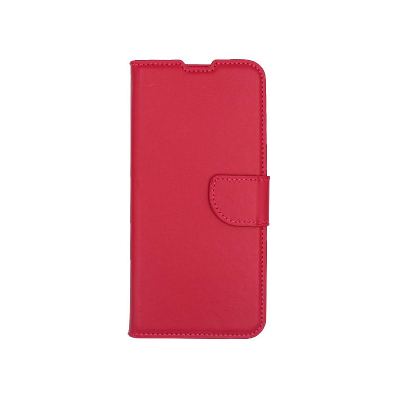 Θήκη Samsung Galaxy A70 / Α70S Wallet φούξια 1