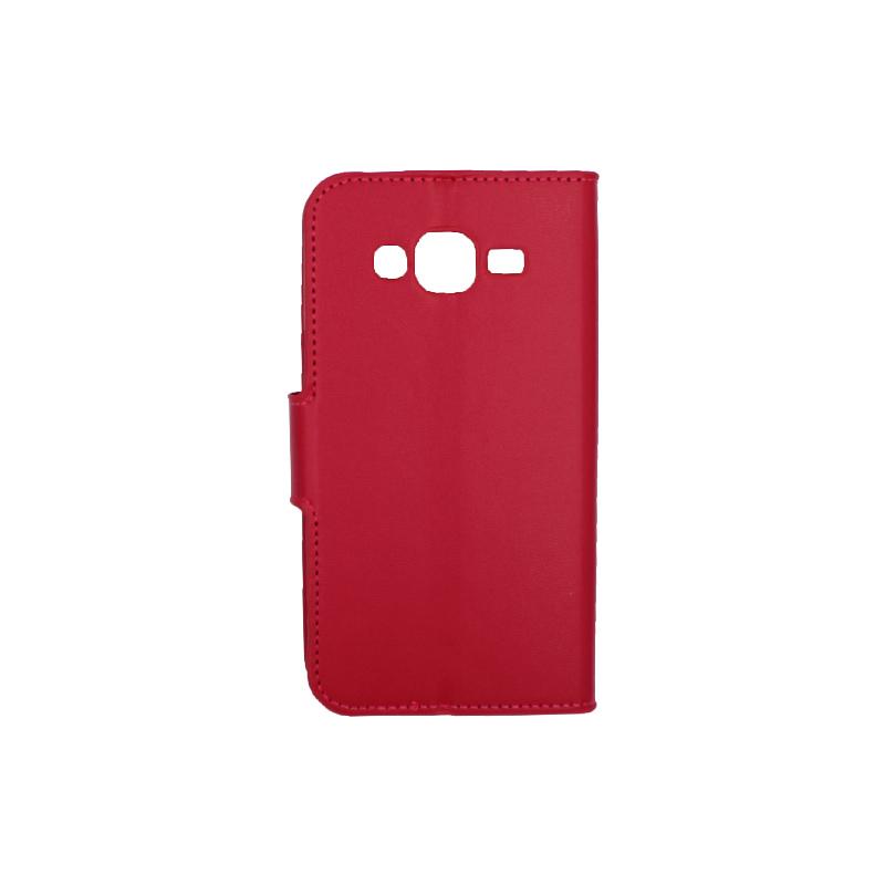 Θήκη Samsung Galaxy J5 πορτοφόλι φούξ 2