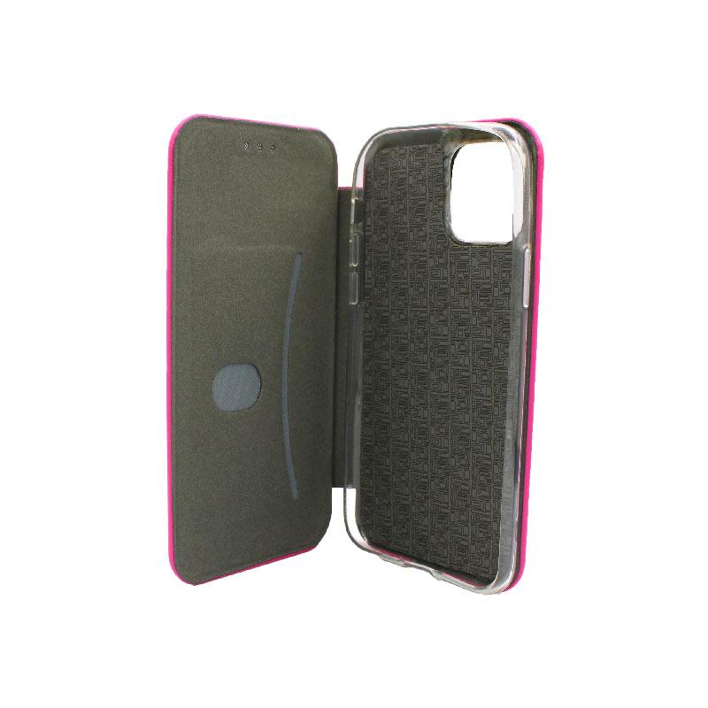 θήκη iphone 11 pro πορτοφόλι φούξια 4