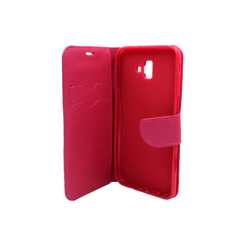 Θήκη Samsung Galaxy J6 Plus φουξ 3