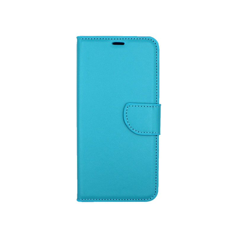 Θήκη Samsung Galaxy A6 Plus / J8 2018 Wallet γαλάζιο 1