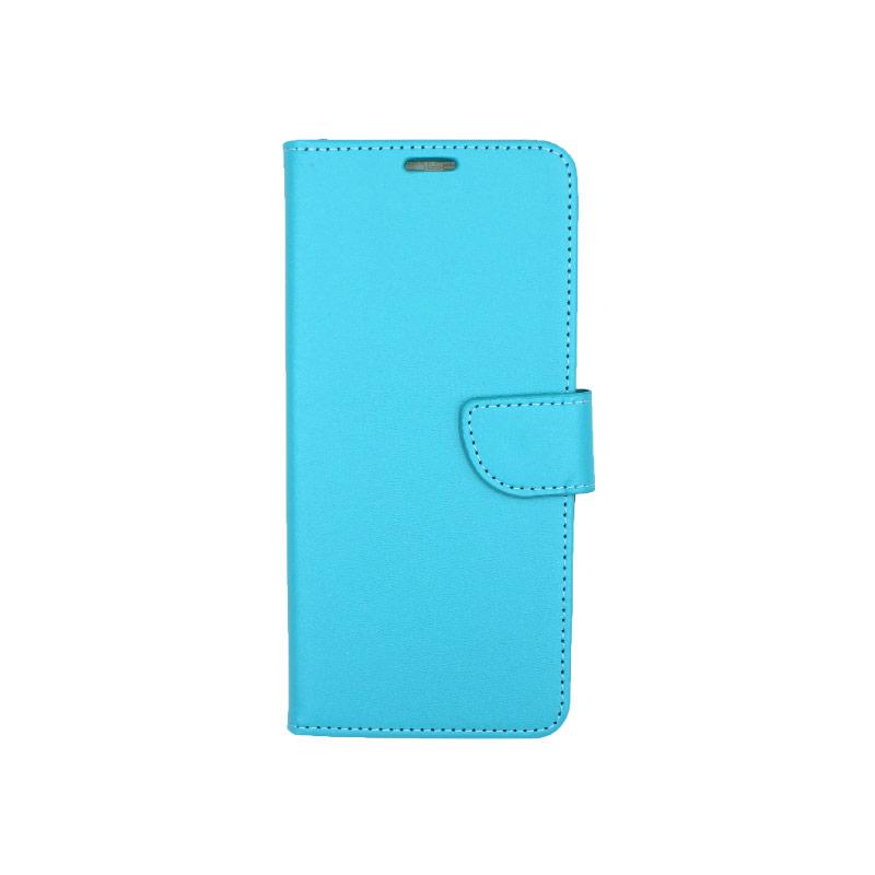 Θήκη Samsung A81 / Note 10 Lite Wallet γαλάζιο 1