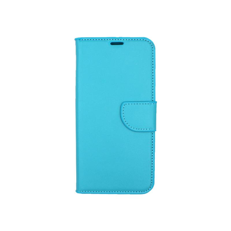 Θήκη Samsung Galaxy M20 Wallet γαλάζιο 1