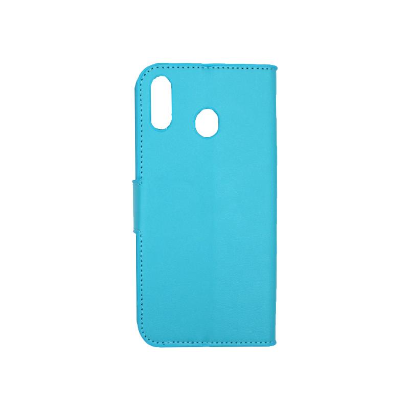 Θήκη Samsung Galaxy M20 Wallet γαλάζιο 2
