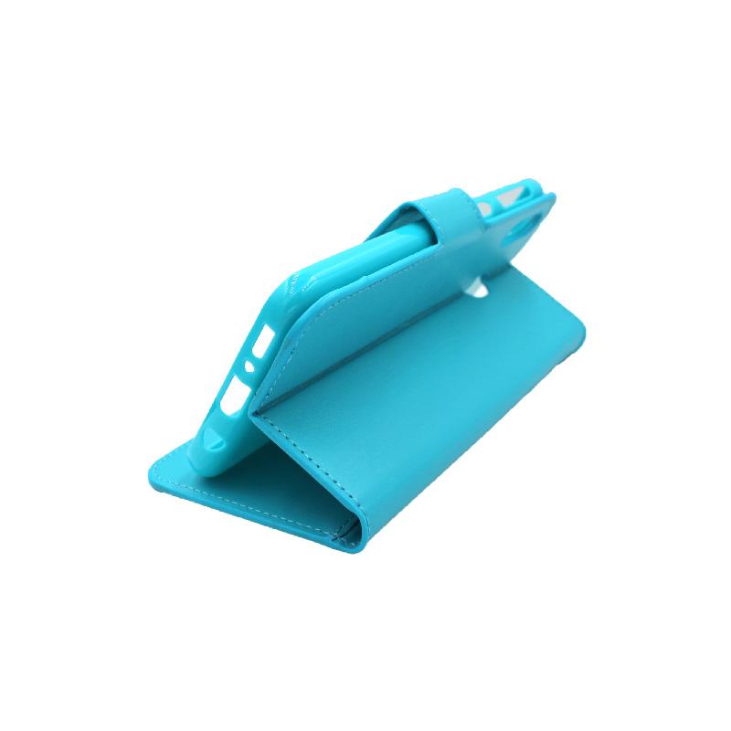 Θήκη Samsung Galaxy M20 Wallet γαλάζιο 4