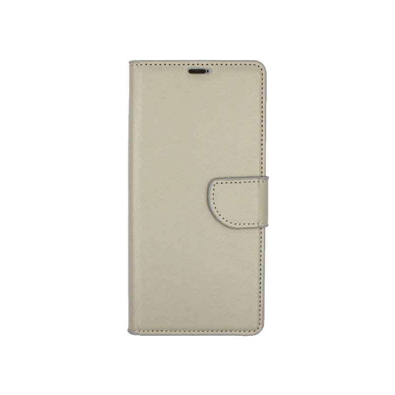 Θήκη Samsung Galaxy Note 9 πορτοφόλι γκρι 1