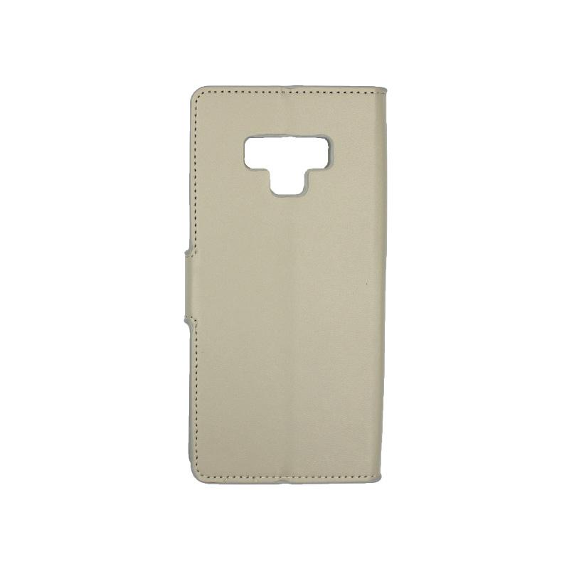Θήκη Samsung Galaxy Note 9 πορτοφόλι γκρι 2