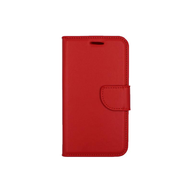 Θήκη Samsung Galaxy J5 πορτοφόλι κόκκινο 1