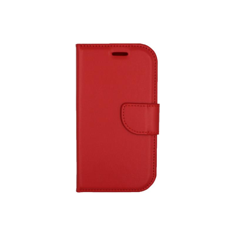 Θήκη Samsung Galaxy S3 πορτοφόλι κόκκινο 1