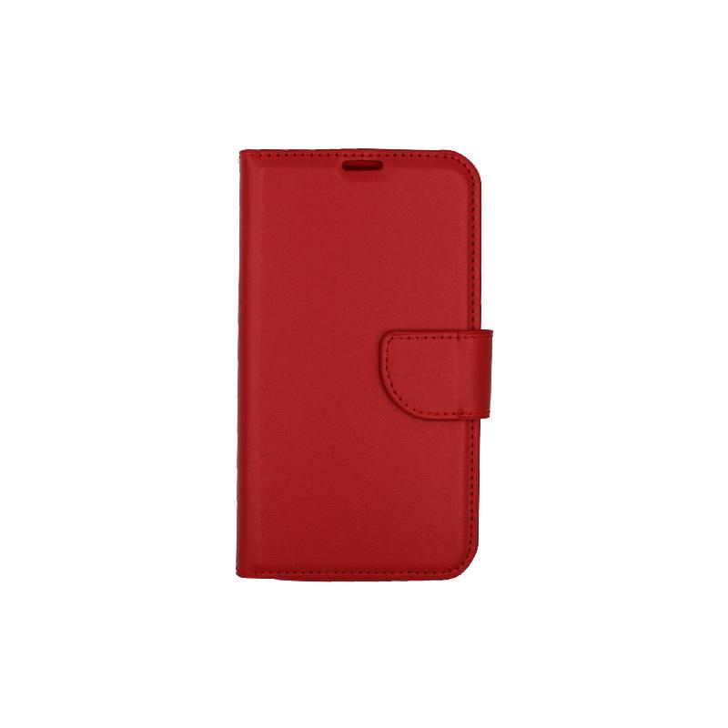 Θήκη Samsung Galaxy S5 πορτοφόλι κόκκινο 1
