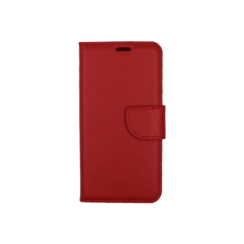 Θήκη Samsung Galaxy S7 πορτοφόλι κόκκινο 1