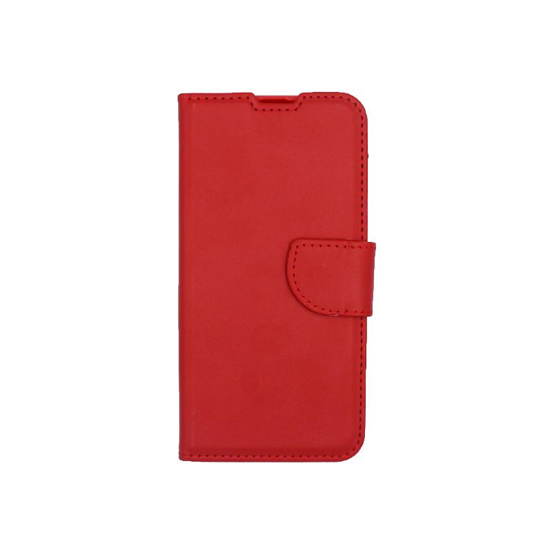 Θήκη Samsung Galaxy A40 Wallet κόκκινο 1