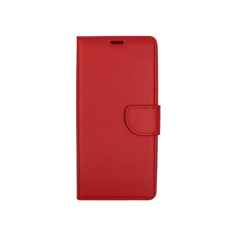 Θήκη Samsung Galaxy Note 9 πορτοφόλι κόκκινο 1