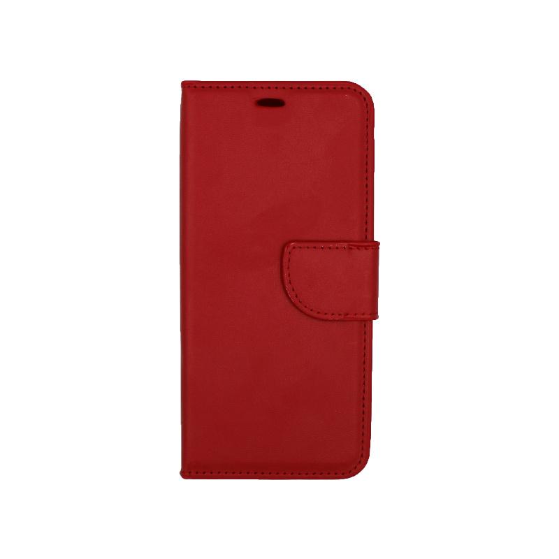 Θήκη Samsung Galaxy S8 πορτοφόλι κόκκινο 1