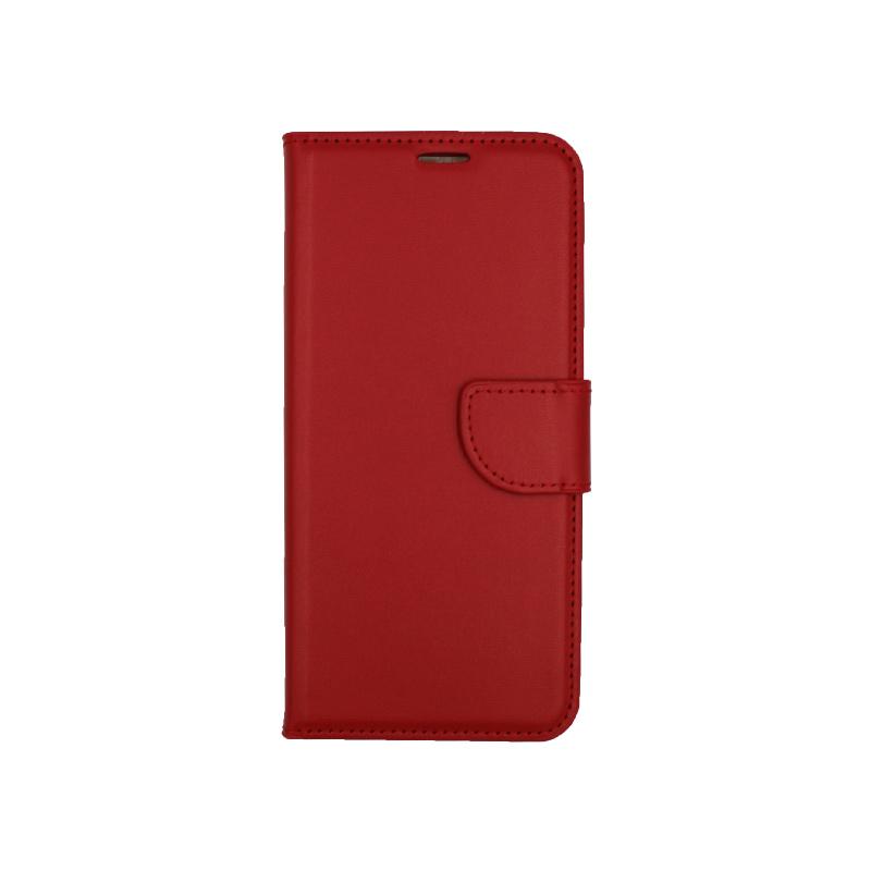 Θήκη Samsung Galaxy S8 Plus πορτοφόλι κόκκινο 1