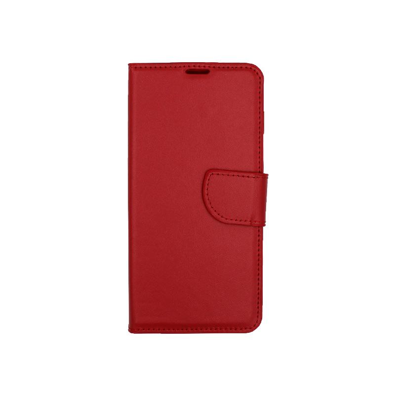 Θήκη Samsung Galaxy S10 πορτοφόλι κόκκινο 1