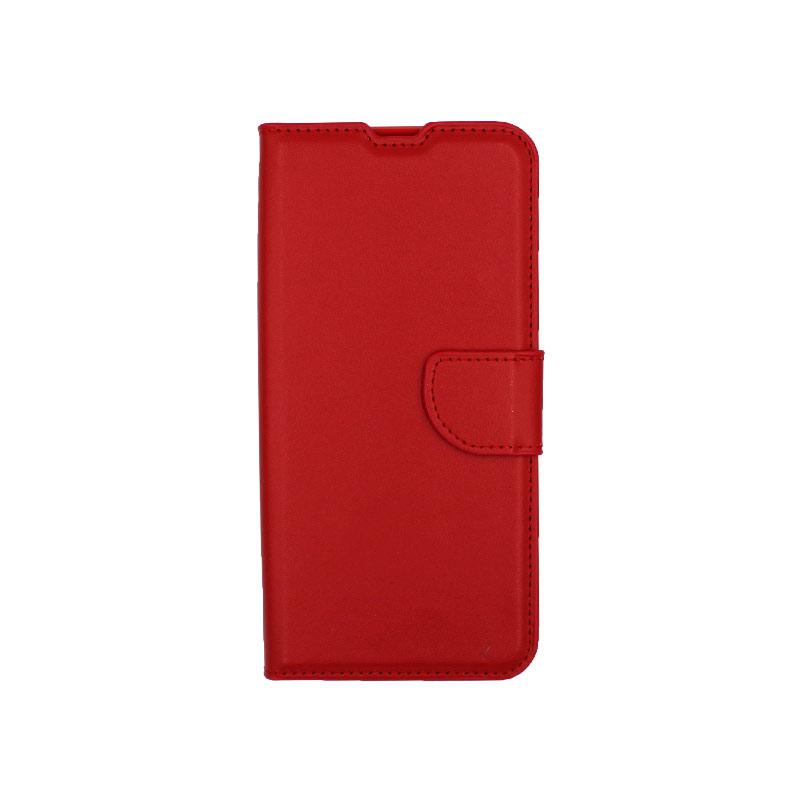 Θήκη Samsung Galaxy M31 Wallet κόκκινο 1