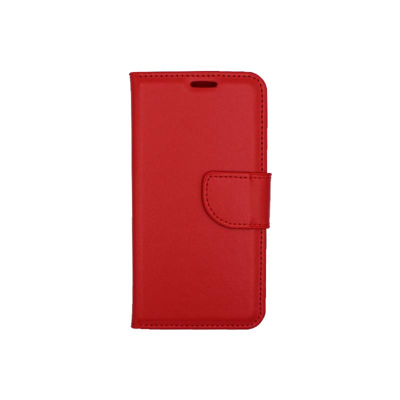 Θήκη Samsung Galaxy Α3 2017 Wallet κόκκινο 1