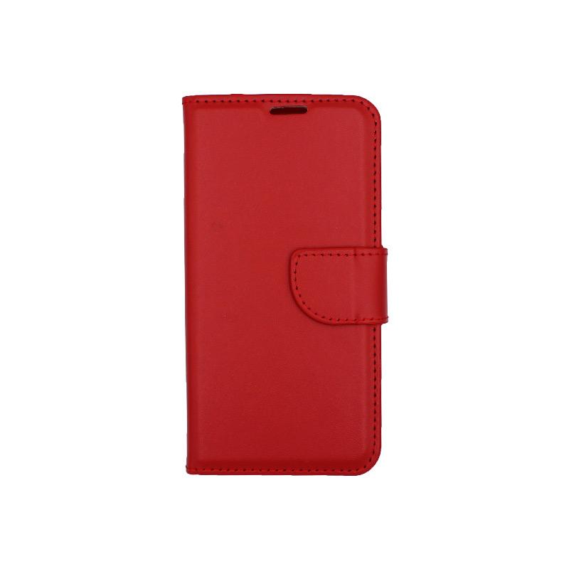 Θήκη Samsung Galaxy Α5 2017 Wallet κόκκινο 1