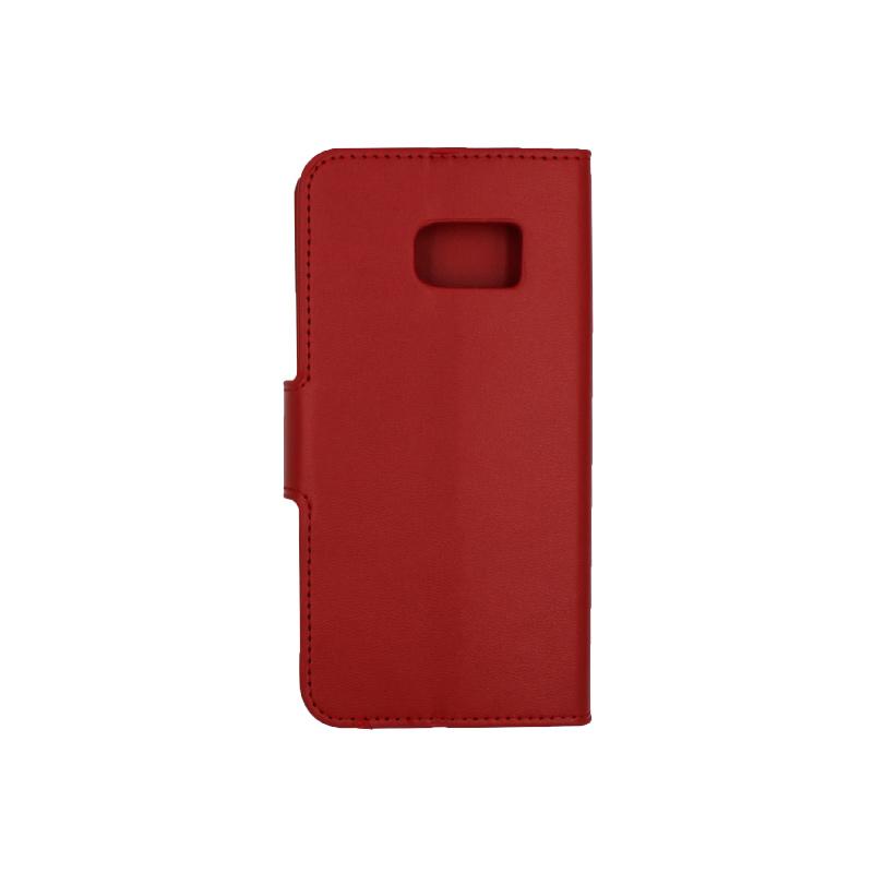 Θήκη Samsung Galaxy S7 πορτοφόλι κόκκινο 2