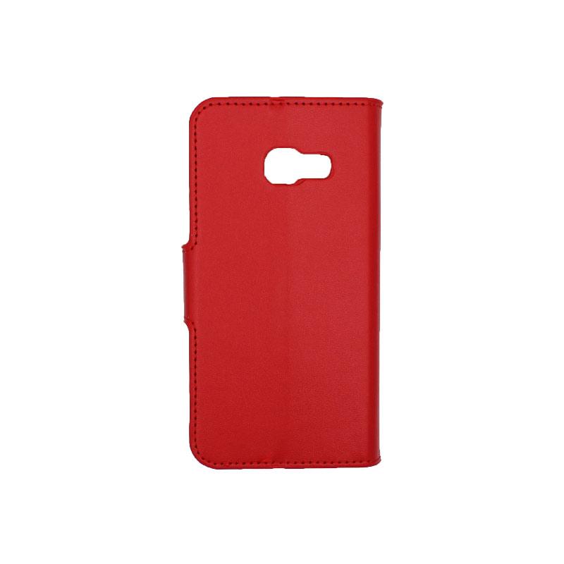 Θήκη Samsung Galaxy Α3 2017 Wallet κόκκινο 2