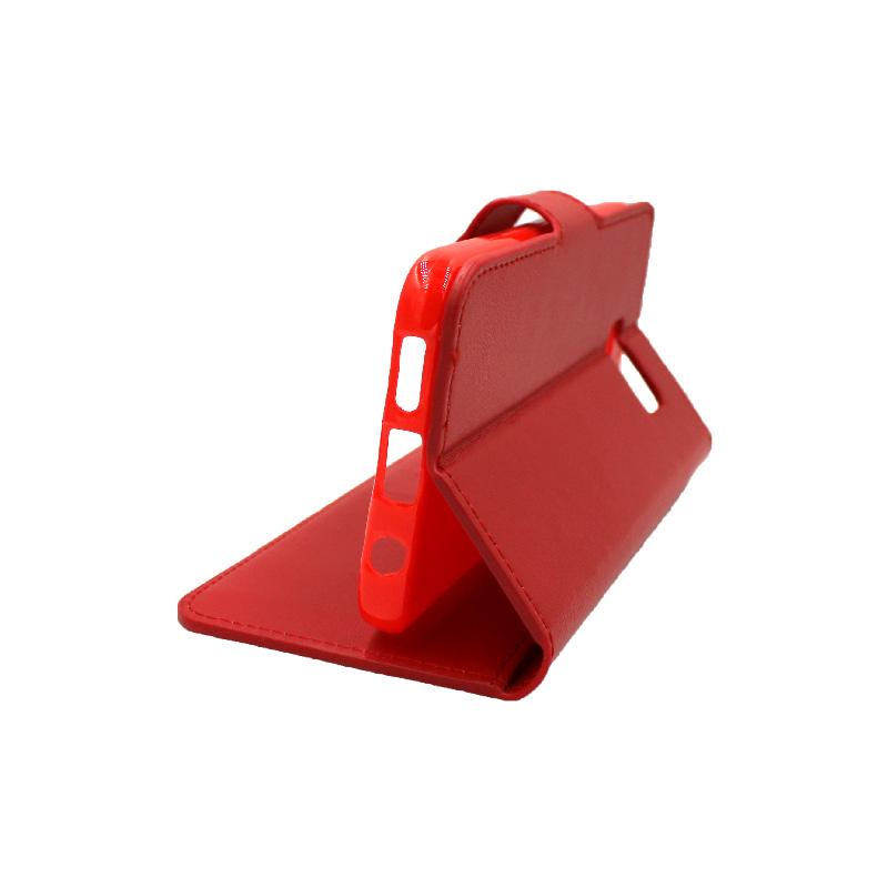 Θήκη Samsung Galaxy S7 πορτοφόλι κόκκινο 4