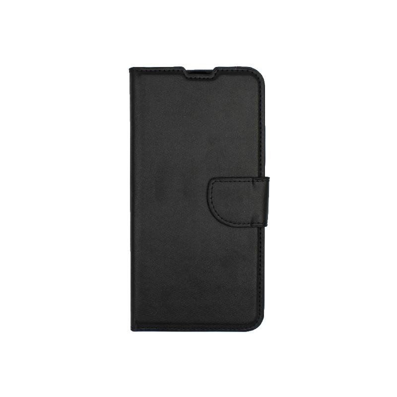 Θήκη Samsung Galaxy A20 / Α30 Wallet μαύρο 1