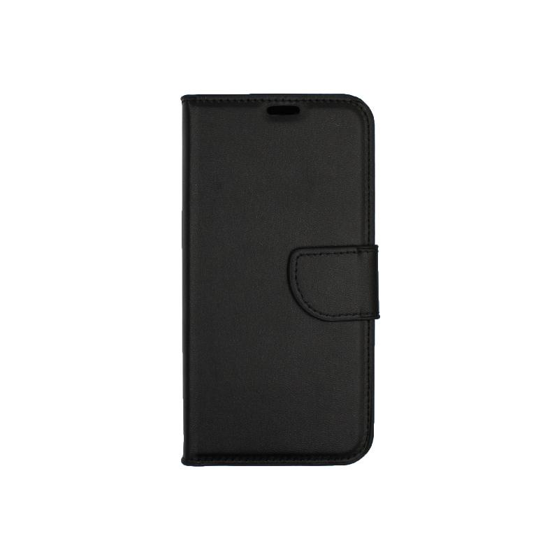 Θήκη Samsung Galaxy J6 πορτοφόλι μαύρο 1