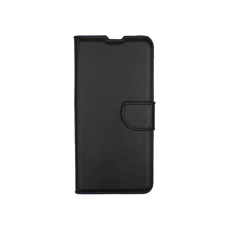 Θήκη Samsung Galaxy A80 / Α90 Wallet μαύρο 1