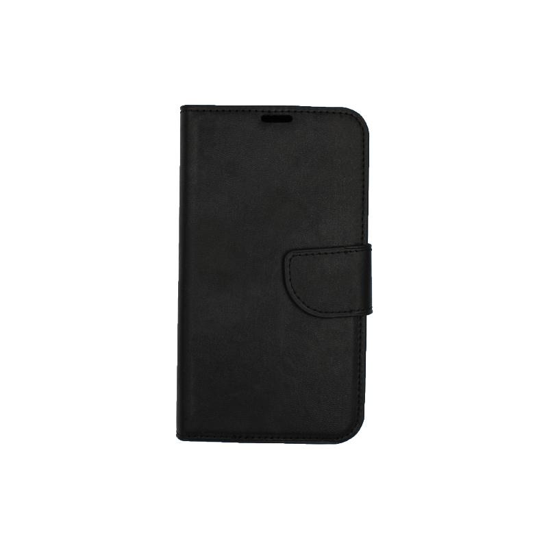 Θήκη Samsung Galaxy S5 πορτοφόλι μαύρο 1