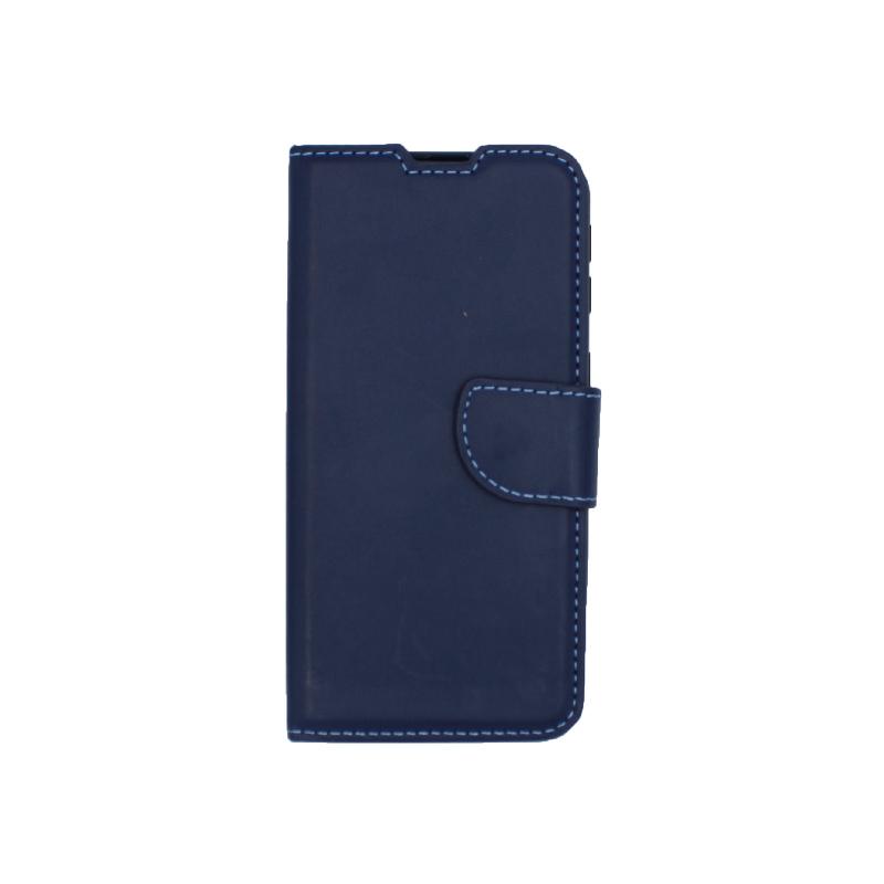 Θήκη Samsung Galaxy A40 Wallet μπλε 1