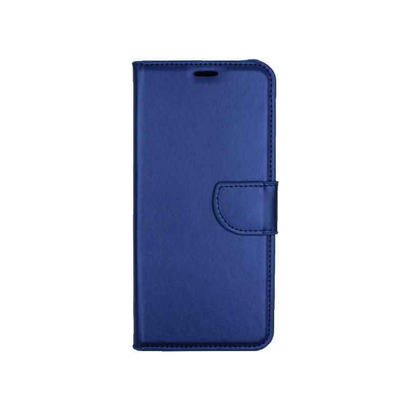 Θήκη Samsung Galaxy J4 Plus πορτοφόλι μπλε 1