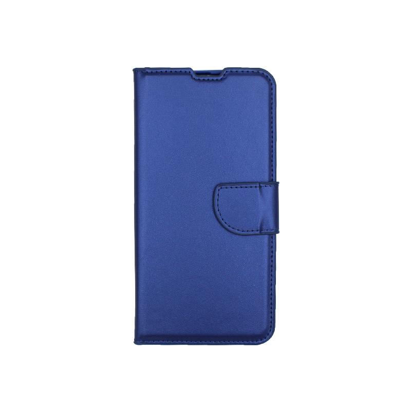 Θήκη Samsung Galaxy A20 / Α30 Wallet μπλε 1
