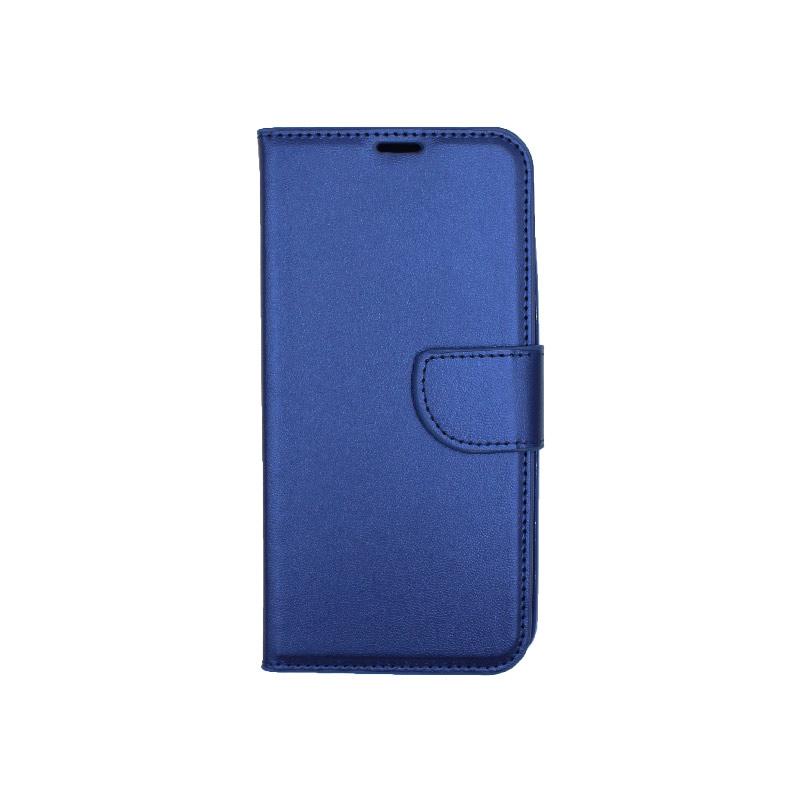 Θήκη Samsung Galaxy M20 Wallet μπλε 1