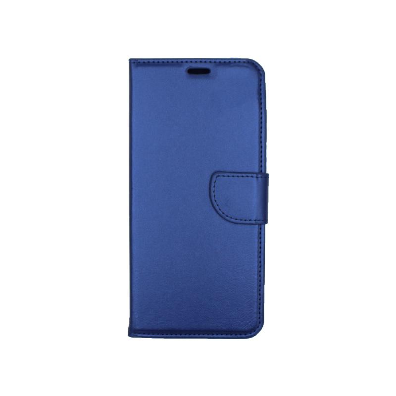 Θήκη Samsung Galaxy Α9 2018 Wallet μπλε 1