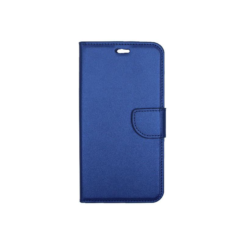 θήκη iphone 7 Plus / 8 Plus πορτοφόλι με λουράκι μπλε 2
