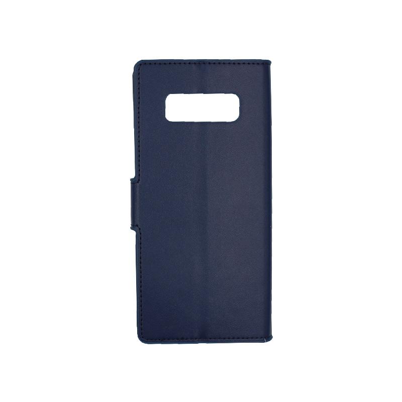 Θήκη Samsung Galaxy Note 8 πορτοφόλι μπλε 2