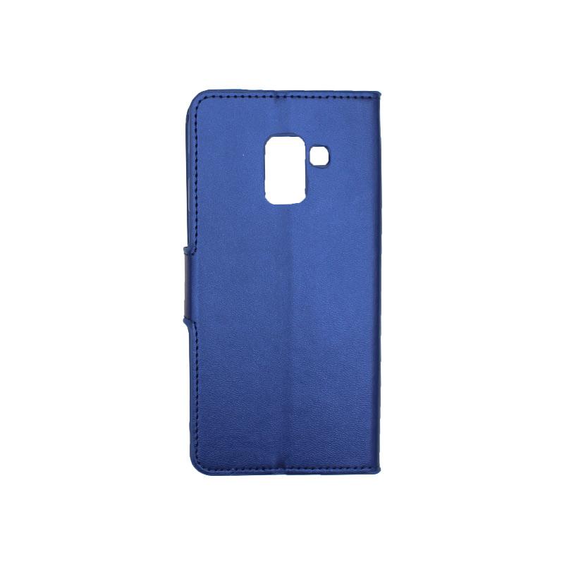 Θήκη Samsung Galaxy Α5 / Α8 2017 Wallet μπλε 2