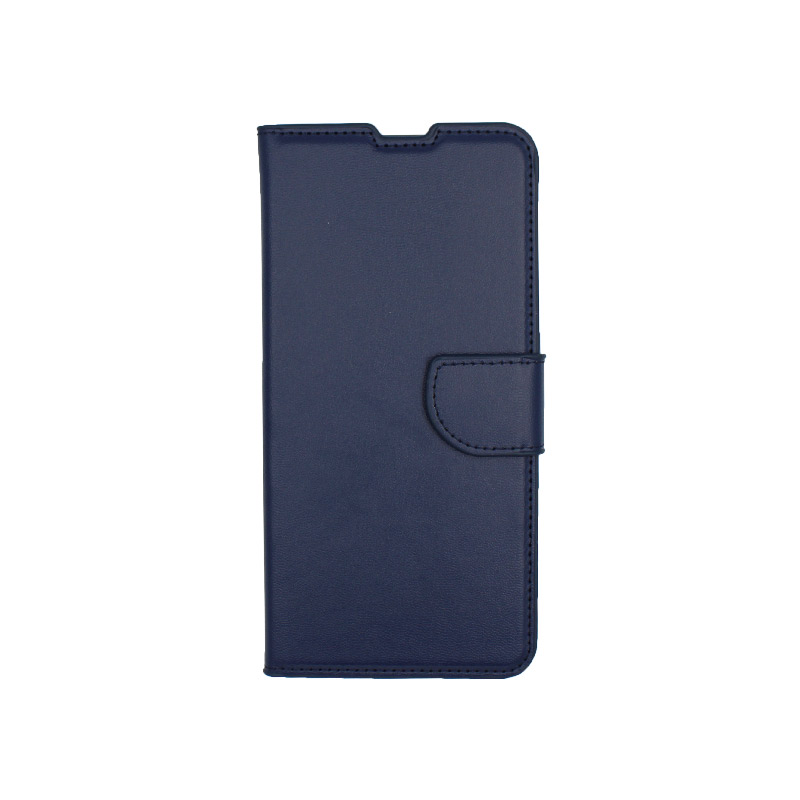 Θήκη Samsung Galaxy A80 / Α90 Wallet σκούρο μπλε 1