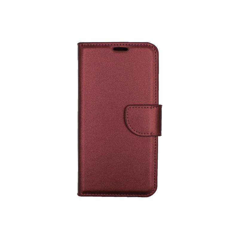 Θήκη Samsung Galaxy Α5 2017 Wallet μπορντό 1