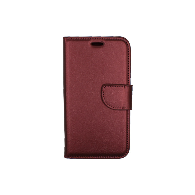 Θήκη Samsung Galaxy J3 2016 πορτοφόλι μπορντό 1
