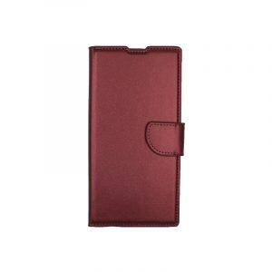 Θήκη Samsung Galaxy Note 10 Plus πορτοφόλι μπορντό 1