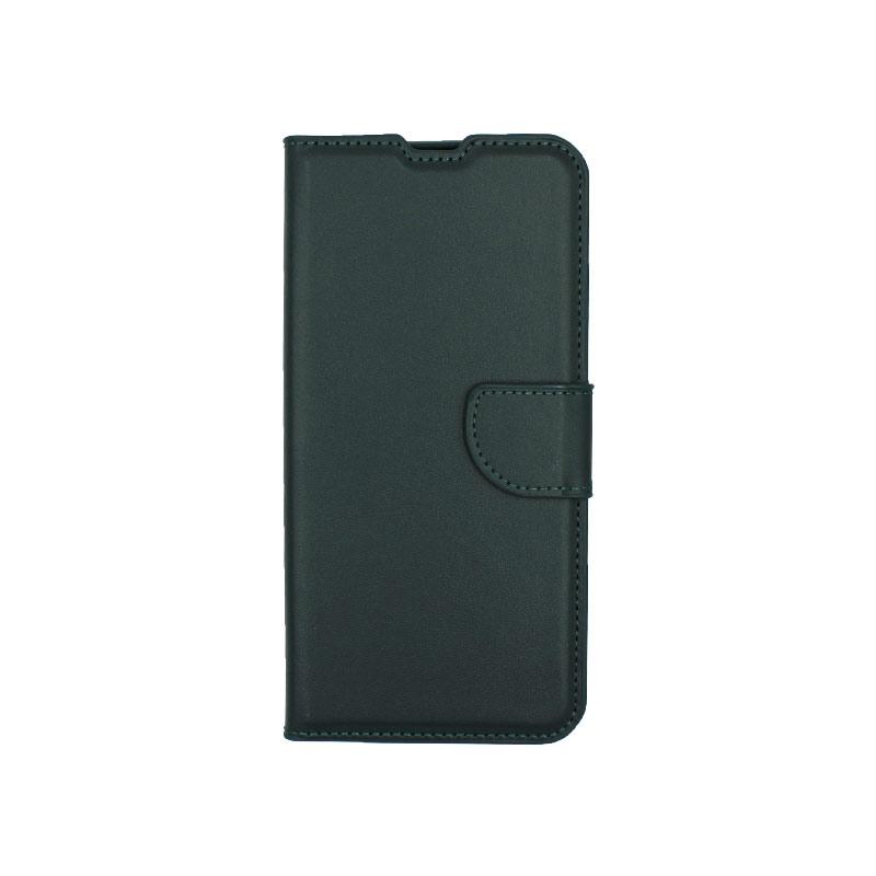 Θήκη Samsung Galaxy M31 Wallet πράσινο 1
