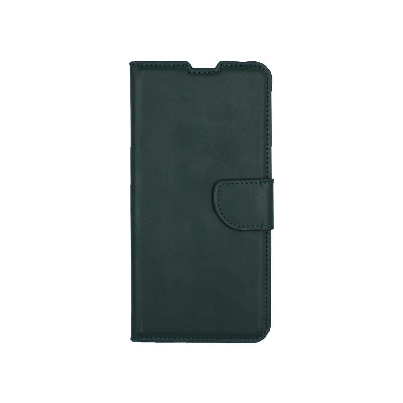 Θήκη Samsung Galaxy A80 / Α90 Wallet πράσινο 1