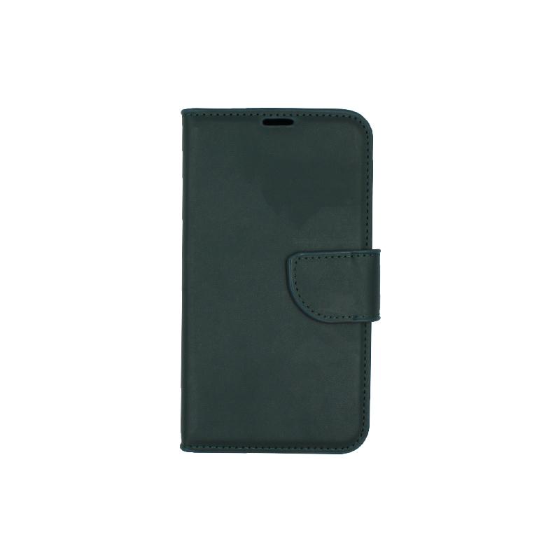 Θήκη Samsung Galaxy S5 πορτοφόλι πράσινο 1