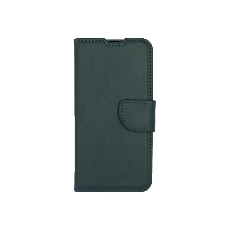 Θήκη Samsung Galaxy A40 Wallet πράσινο 1