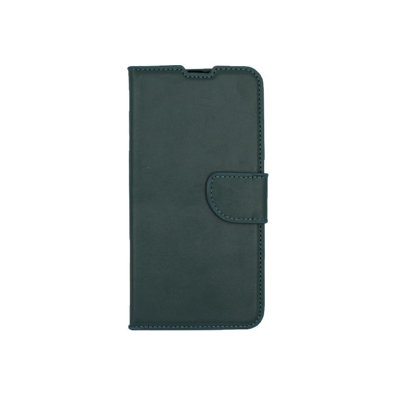 Θήκη Samsung Galaxy A20 / Α30 Wallet πράσινο 1